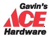 Logo for Gavin's Ace Hardware in Fort Myers Florida.