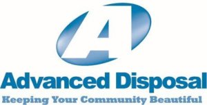 Logo for Advanced Disposal, a waste disposal and recycling company in Fort Myers FL.