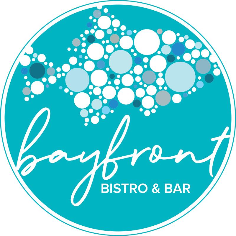 Logo reads 'Bayfront Bistro & Bar'