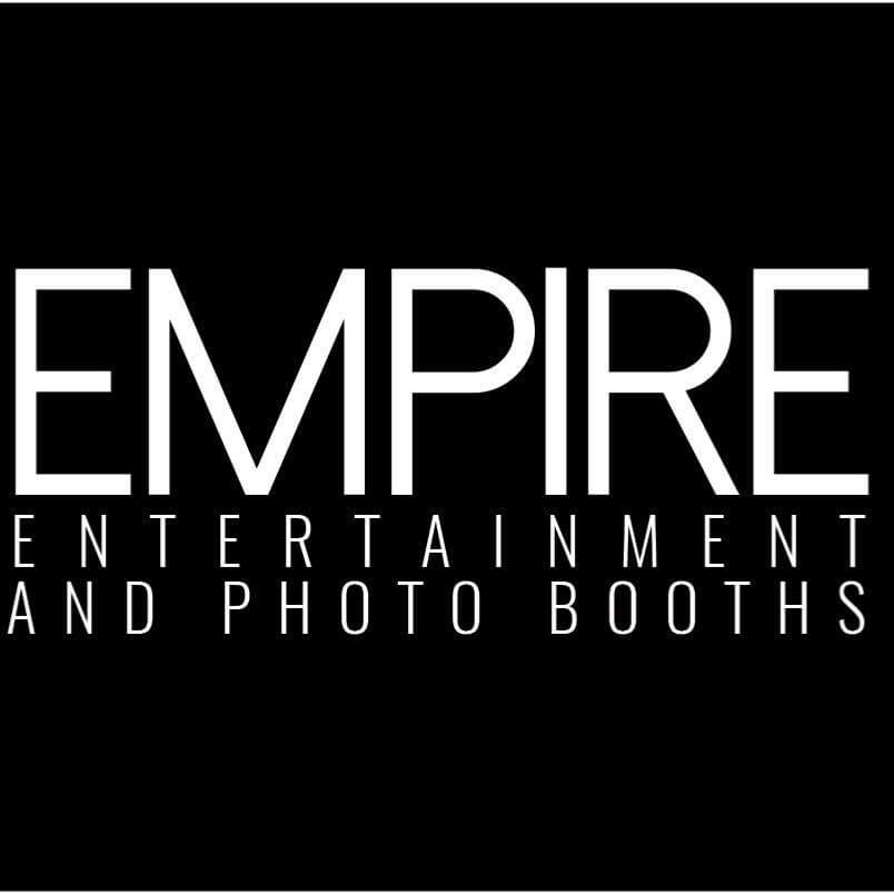 Text reads 'Empire Entertainment & Photo Booths'