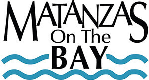 Logo for Matanzas on the Bay, a waterfront restaurant on Fort Myers Beach.