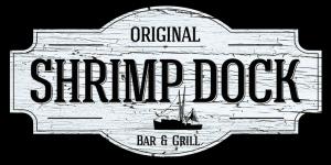 Logo for the Original Shrimp Dock Restaurant.