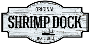 Logo for the Original Shrimp Dock.