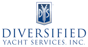 Logo for Diversified Yacht Services, a specialty marina on Fort Myers Beach.