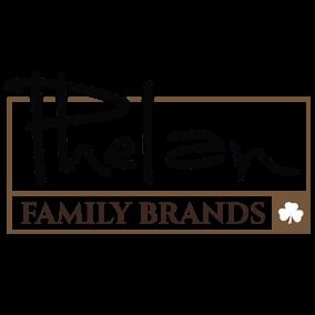 Logo for Phelan Family Brands, owner of Pinchers and Texas Tony's restaurants.