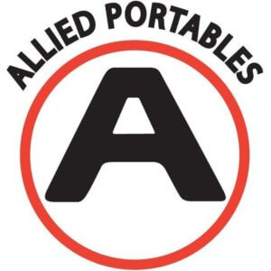 Logo for Allied Portables in Fort Myers, a portable toilet company in Fort Myers.