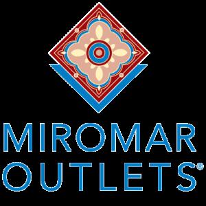 Logo for Miromar Outlets, a shopping center in Estero,FL.