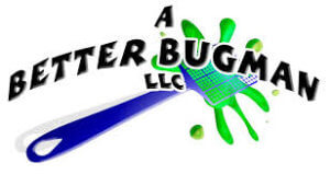 Logo for pest control company A Better Bugman.