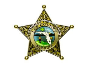 Logo for the Lee County Sheriff Department in Florida.