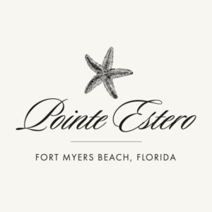 Logo for Pointe Estero Beach Resort on Fort Myers Beach.