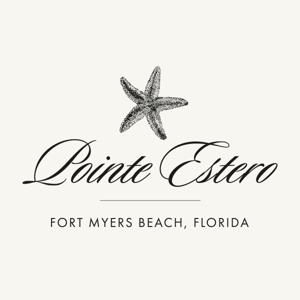 Logo for Pointe Estero Beach Resort on Fort Myers Beach.