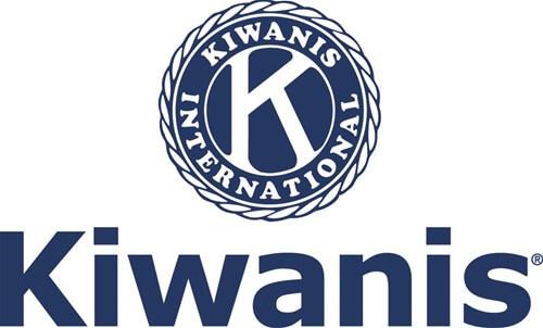 Logo for the Kiwanis Club.