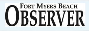 Logo for the Fort Myers Beach Observer.