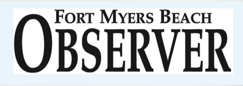 Logo for the Fort Myers Beach Observer.