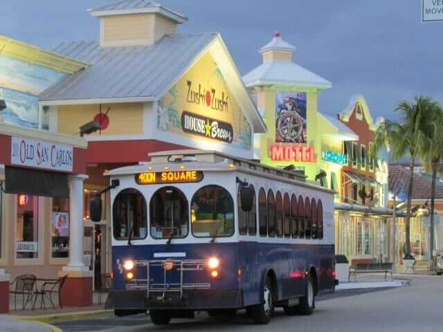 Fort Myers Beach Trolley Tram Info Fort Myers Beach Chamber