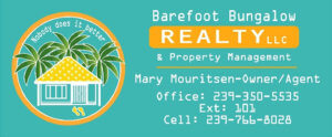 Barefoot Bungalow Realty Logo.