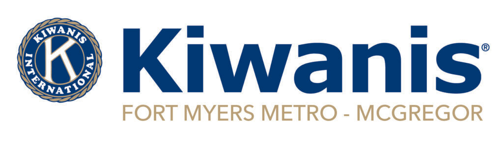 Logo for Kiwanis Fort Myers Metro.McGregor.