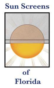 Sun Screens of Florida logo.