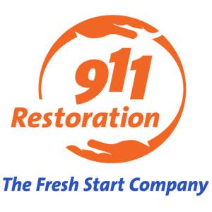 911 Restoration logo.