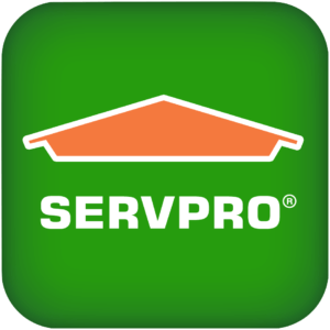 Servpro logo.