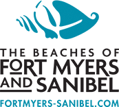 Logo for The Beaches of Fort Myers and Sanibel aka the Lee County Visitor and Convention Bureau.