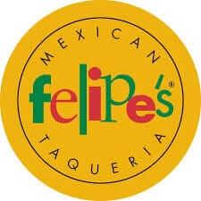 Logo for Felipe's Mexican Taqueria.