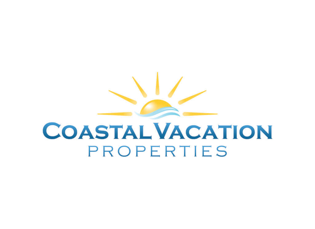 Logo for Coastal Vacation Properties.