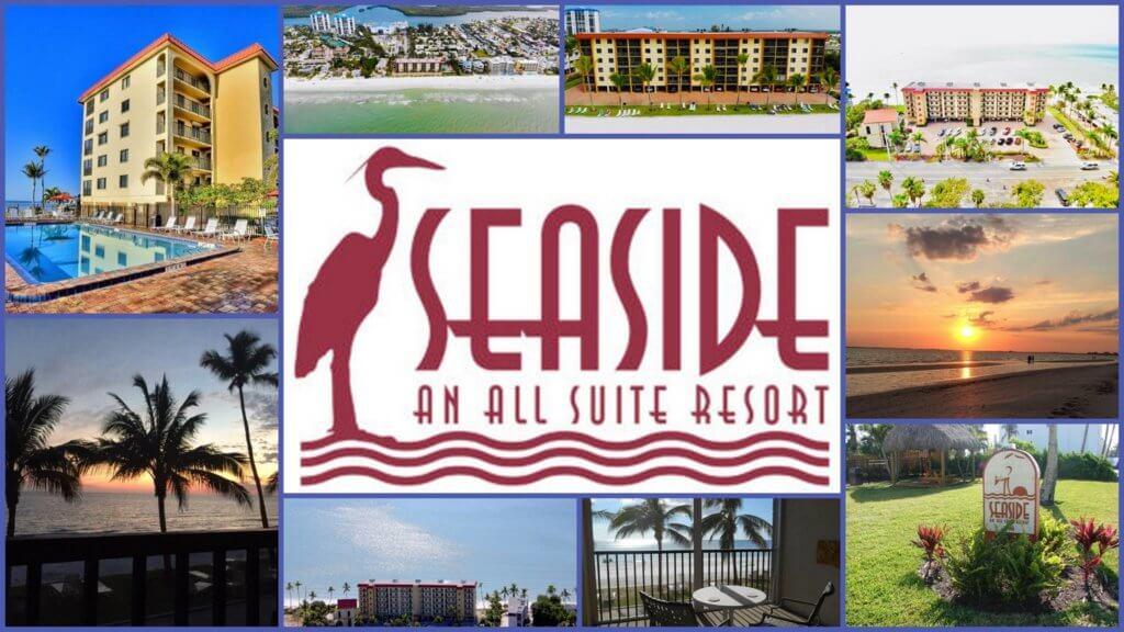 Logo reads 'Seaside An All Suite Resort.