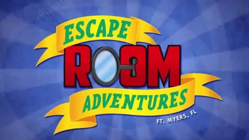 Escape Room Adventures Fort Myers FL logo.