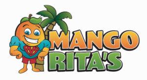 Logo for Mango Rita's.