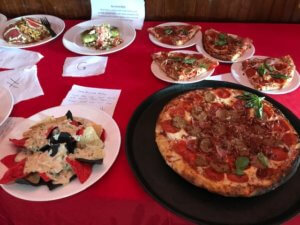 A variety of dishes competed for top honors in the Taste of the Beach.