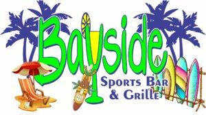 Logo for Bayside Sports Bar & Grille.